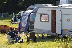 Caravans at Folk Ale