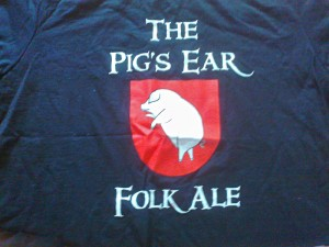 2007 Folk Ale T-shirt
