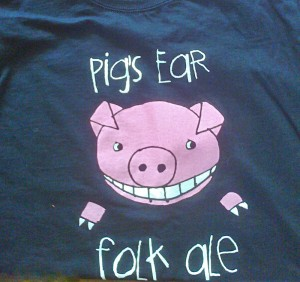 2011 Folk Ale T-shirt