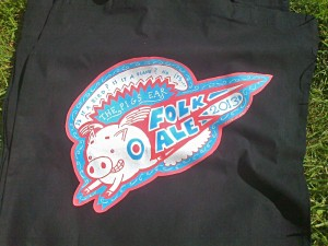 2013 Folk Ale T-shirt