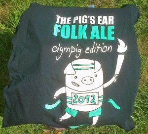 2012 Folk Ale T-shirt
